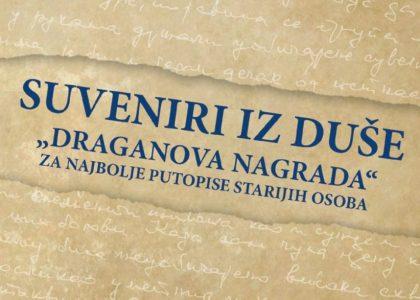 """III Konkurs za najbolji putopis starijih osoba """"Draganova nagrada 2017"""""""