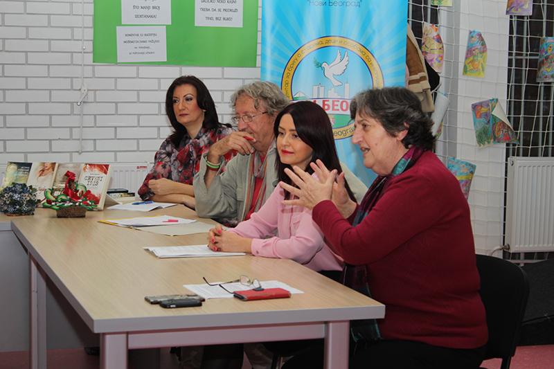 Druženje dece i starijih Novobeograđana povodom Međunarodnog dana tolerancije