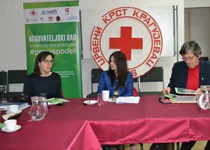 Razvoj Savetovališta za neformalne negovatelje dementnih osoba u Kragujevcu