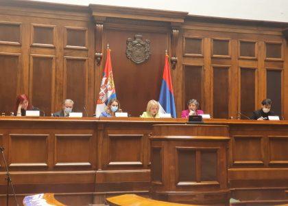 U Skupštini Srbije predstavljen Izveštaj o diskriminaciji starijih građana