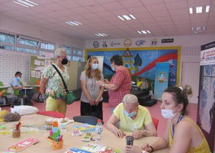 Predstavnice Delegacije EU u Srbiji i Zaštitnika građana posetile naš Dnevni boravak za obolele od demencije