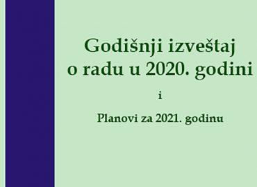 Godišnji izveštaj Amity-a za 2020. godinu