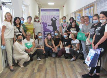 Obuke za gerontodomaćice i volontere koji rade sa starijim ženama
